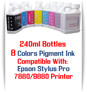 Refill Pigment Ink 240ml Epson Stylus Pro