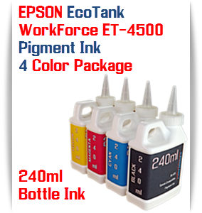 EPSON EcoTank printer Bottle Ink 240ml Pigment Ink