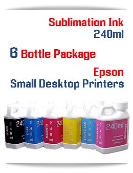 6 240ml Bottles Sublimation ink