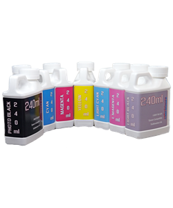 7 Color 240ml Epson Stylus Pro 7600/9600 Compatible Sublimation Refill Ink