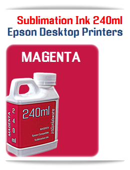 MAGENTA Epson Small Desktop Sublimation Ink 240ml