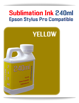 240ML Bottle Photo Yellow Sublimation Ink