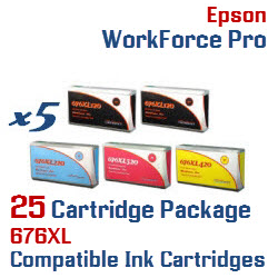 676XL 25 Cartridge Package