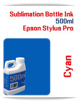 500ML Bottle Photo Cyan Sublimation Ink