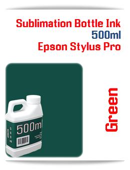 500ML Bottle Green Sublimation Ink