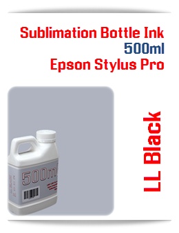 500ML Bottle Light Light Black Sublimation Ink