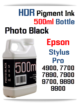 500ml compatible Epson Stylus Pro HDR Pigment Ink