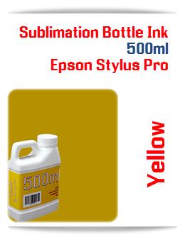 500ML Bottle Photo Yellow Sublimation Ink