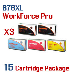 676XL 15 Cartridge Package
