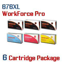 676XL 6 Cartridge Package