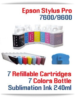 Sublimation Ink Package Epson Stylus Pro 9600 Printer