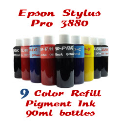 9 Color Refill Pigment Ink 90ml