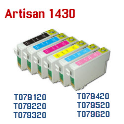 Epson Artisan 1430 Compatible ink cartridges