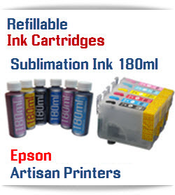 Epson Artisan Desktop Printer Sublimation Ink Cartridge Package