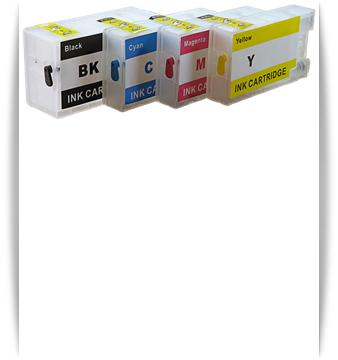 Canon PGI-1200XL 4- Refillable Ink Cartridges Maxify MB2020, MB2320