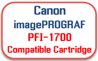 Canon imagePROGRAF PFI-1700 Compatible Ink Cartridges