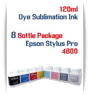 8 bottle of ink Epson Stylus Pro 4800