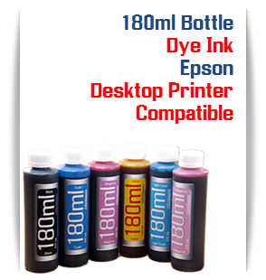 6 Color 180ml bottles