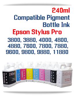 240ml bottle Pigment Ink Epson Stylus Pro Printers