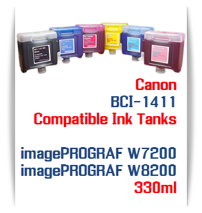 BCI-1411 ink tanks compatible Canon printers