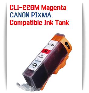 CLI-226M Magenta Compatible Canon Pixma printer Ink Cartridge W/ Chip