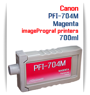 Magenta Canon imageProGRAF iPF8300, iPF8300S, iPF9300, iPF9300 Compatible Pigment Ink Tank 700ml