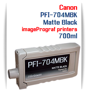 Matte Black Canon imageProGRAF iPF8300, iPF8300S, iPF9300, iPF9300 Compatible Pigment Ink Tank 700ml