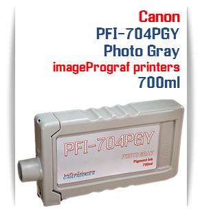 Photo Gray Canon imageProGRAF iPF8300, iPF8300S, iPF9300, iPF9300 Compatible Pigment Ink Tank 700ml