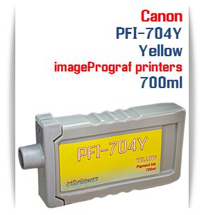 Yellow Canon imageProGRAF iPF8300, iPF8300S, iPF9300, iPF9300 Compatible Pigment Ink Tank 700ml
