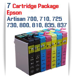 7 Cartridge Package Epson Artisan Printers