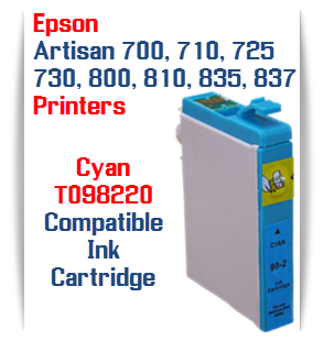 T098220 Cyan Epson Artisan Ink Cartridge