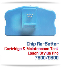 Chip Re-Setter Epson Stylus Pro 7800/9800 Printers
