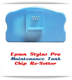Chip Re-Setter Maintenance Tank Epson Stylus Pro 7800/9800 printers