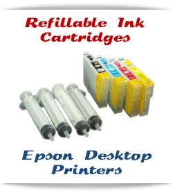 Epson Desktop Refillable ink cartridges