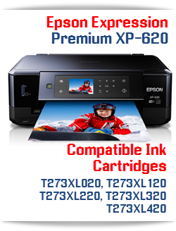 Epson Expression Premium XP-620 Compatible Ink Cartridges