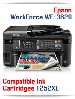 Epson WorkForce WF-3620 compatible ink cartridges