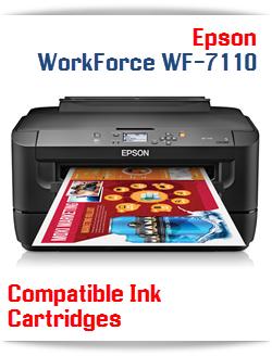 Epson WorkForce WF-7110 compatible ink cartridges