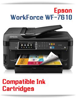 Epson WorkForce WF-7610 compatible ink cartridges