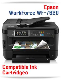Epson WorkForce WF-7620 compatible ink cartridges