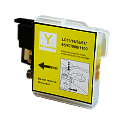 Brother LC61Y Yellow Compatible Ink Cartridge