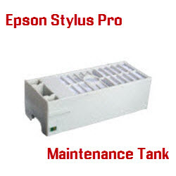 Epson Stylus Pro Printers Maintenance Tanks