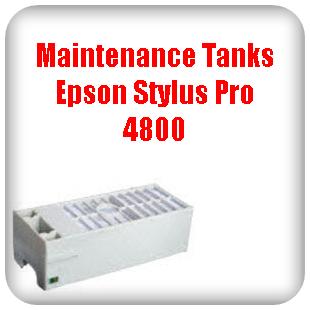 Maintenance Tanks Epson Stylus Pro 4800 printer