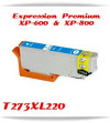 T273XL220 Epson Expression Premium XP-600 printer ink cartridges