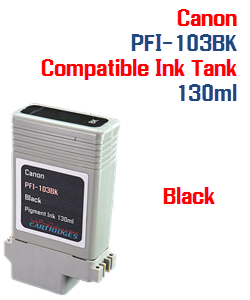 Black Canon PFI-103BK Compatible Ink Tank