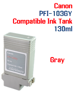 Gray Canon PFI-103GY Compatible Ink Tank