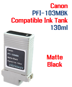 Matte Black Canon PFI-103MBK Compatible Ink Tank