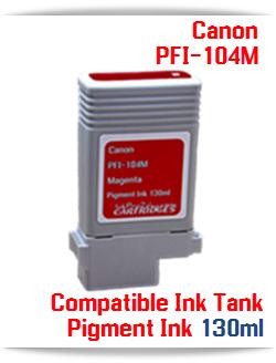 PFI-104M Canon Compatible Pigment Ink Tank 130ml