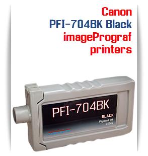 PFI-704BK Black Canon iPF8300, iPF8300S, PFI-9300 Compatible Pigment Ink Tank 700ml