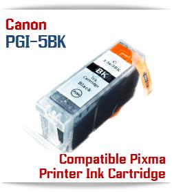 PGI-5BK Compatible Canon Pixma printer Ink Cartridge W/ Chip