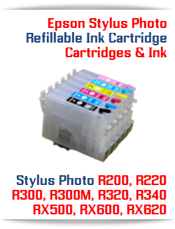 Epson Stylus Photo Refillable Ink Cartridges